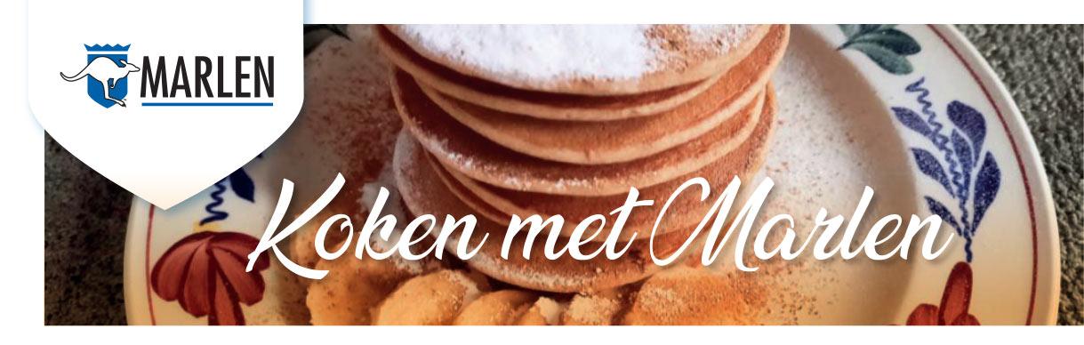 koken met marlen pannenkoekjes